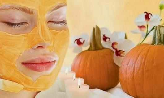 Универсальные маски для лица из тыквы