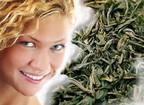 Маска против морщин из зеленого чая
