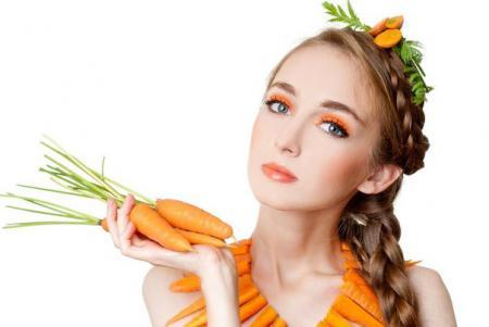 Домашние маски для лица из моркови