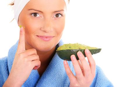 Очищающие маски для лица из авокадо