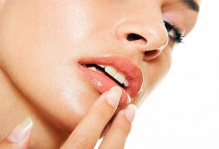 Крем для губ при защите от ветра и мороза