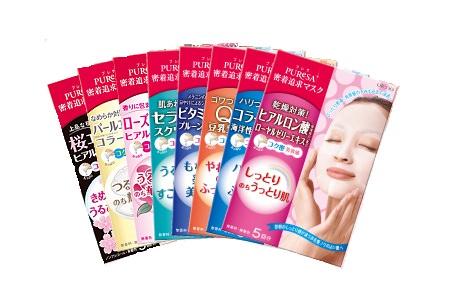 Современные японские маски для лица