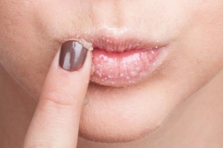 Рецепты скраба для губ