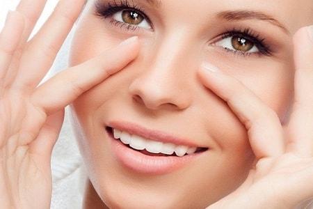 Особенности маски для кожи вокруг глаз