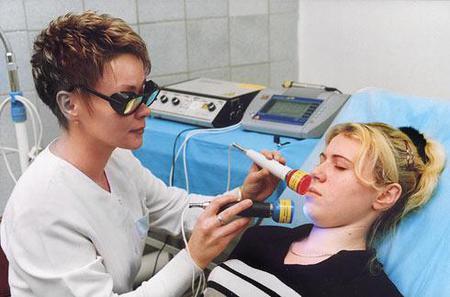Лазерный способ удаления сосудов на лице
