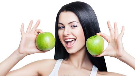 Яблоки для красивой кожи лица