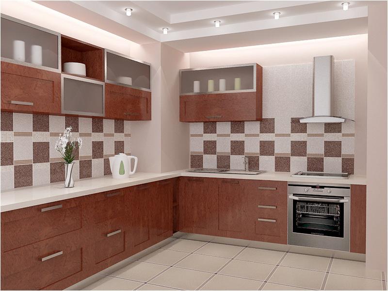 Кафель в дизайне кухни