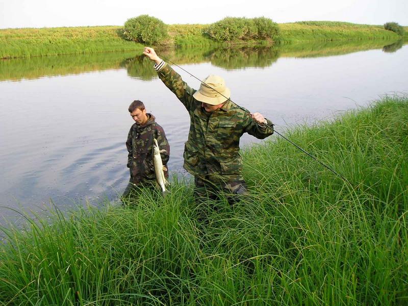 Рыбалка на турбазе