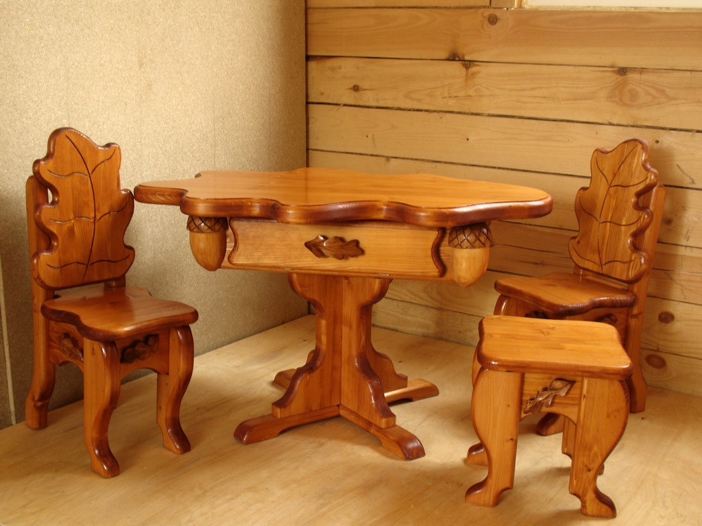 Как сделать мебель из дерева своими руками кухню 3
